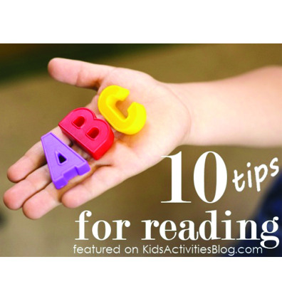 10 Tips For Reading Readiness And Learning Letters