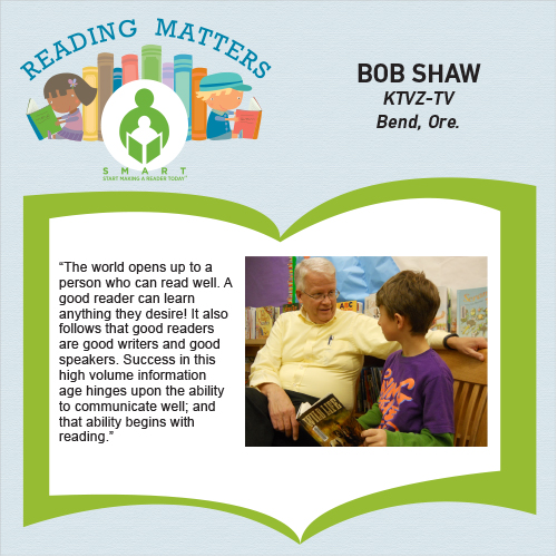 Bob Shaw Reading matters quote for SMART website