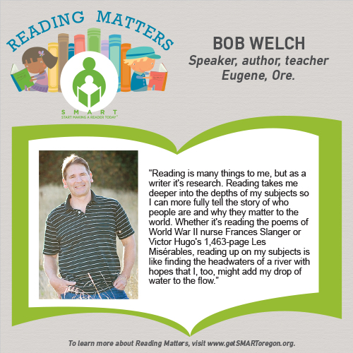 Bob Welch Reading Matters testimonial for SMART website
