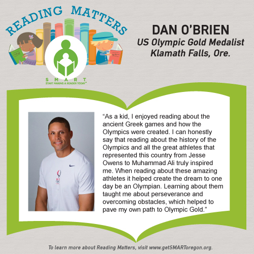 Dan Obrien reading matters testimonial for website