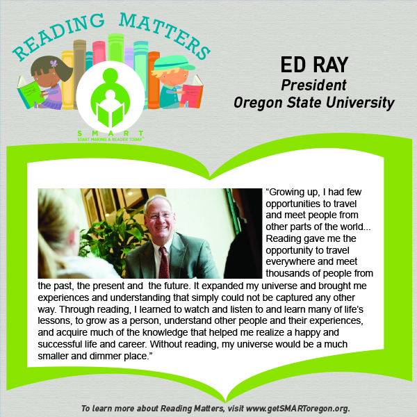 Ed Ray Reading Matters Testimonial for website