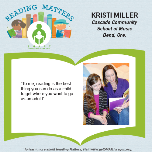 Kristi Miller Reading Matters Testimonial for SMART website