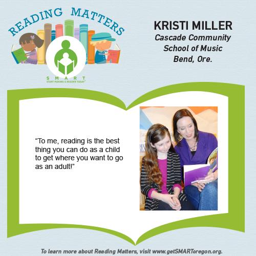 Kristi Miller Reading Matters Testimonial for SMART website