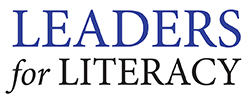 Leaders for Literacy Logo - Royal Blue