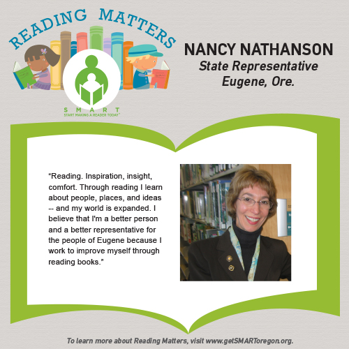 Nancy Nathanson Reading Matters testimonial for SMART website