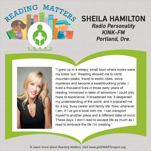 Sheila Hamilton Reading Matters testimonial for SMART website