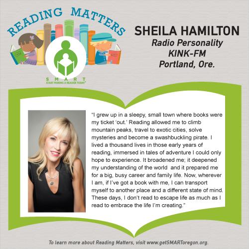 Sheila Hamilton Reading Matters testimonial for SMART website