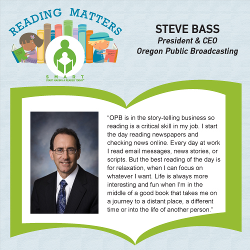 Steve Bass Reading Matters Testimonial for SMART website