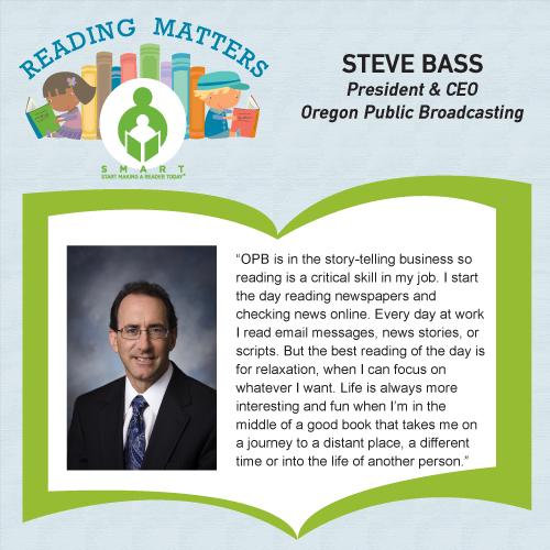 Steve Bass Reading Matters Testimonial for SMART website
