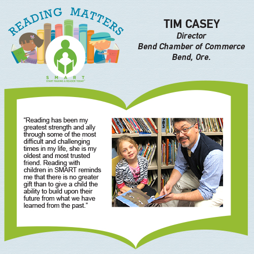 Tim casey reading matters quote for SMART website